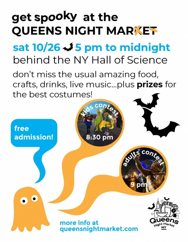 Queens Night Market To Close Its Season With A Halloween
